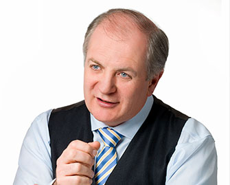 Gavin Duffy at All Ireland Business Summit, Dublin
