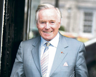 Feargal Quinn at All Ireland Business Summit, Dublin
