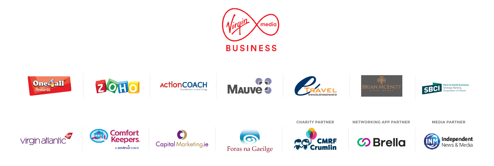 All Ireland Summit 2019 Sponsors
